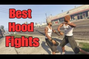 Best Hood Fights And Street Knockouts Compilation| GTA Ep. 45