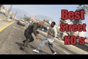 Best Street Knockouts and Hood Fights Compilation| GTA 5 Ep.36