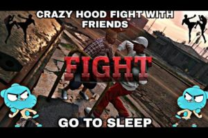 CRAZY GTAONLINE HOOD FIGHTS (JUMP SEASON) WITH FRIENDS