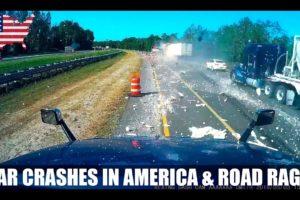 Car Crash in America & Road Rage (USA & Canada) 2021 # 58