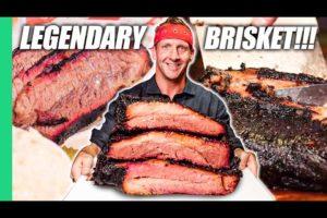 Dino-Sized Brisket in TEXAS!! Best American Food BBQ!!