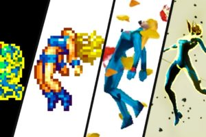 Evolution of Samus Dying and *ALL* Metroid Game Over Screens