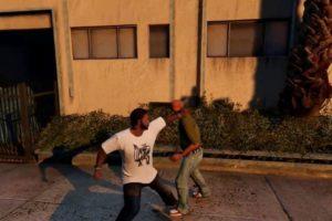 GTA 5 HOOD FIGHTS ROUND 2