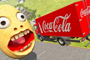 Incredible Cars Jumping Over Screaming Egg - BeamNG.Drive Vehicles Jumps and Crashes Compilation