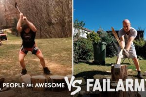 Intense Wood Chopping Wins Vs. Fails & More! | People Are Awesome Vs. FailArmy