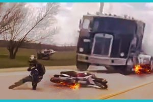 LUCKY PEOPLE NEAR DEATH, CAUGHT ON CAMERA COMPILATION  #1