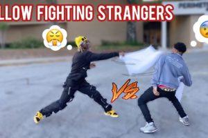 Pillow Fighting Strangers in Public 🤕 Atlanta Mall Edition! (pt. 7)