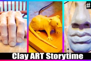 🟢Satisfying and Relaxing CLAY ART STORYTIME ✨Best TikTok Compilation #54