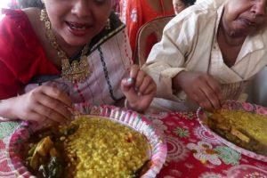 Share Khichuri Bhog with Our Dad  | Durga Pujo Nabami Special Vlog