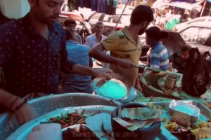 Super Place to Eat Rice Thali | Only 30 rs Plate | Kolkata Bara Bazar Fall Patti
