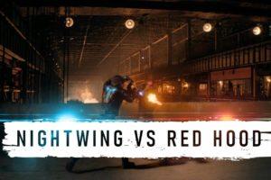 Titans Nightwing VS Red Hood Fight Scene