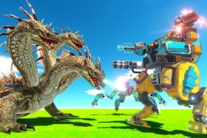 WAR Robots Fight Upgraded HYDRA - Animal Revolt Battle Simulator