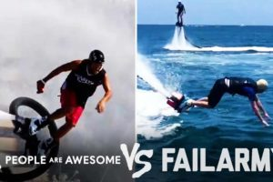 Water Jet Pack Wins Vs. Fails & More! | People Are Awesome Vs. FailArmy