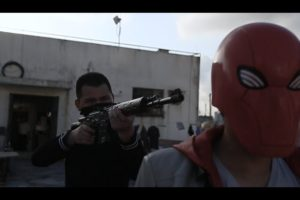 Xcoser Red Hood Fights Crime